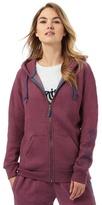 Animal Purple Zip Through Hoody