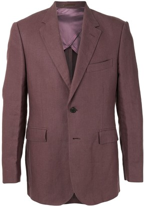 Gieves & Hawkes Single-Breasted Fitted Blazer