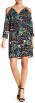 Alexia Admor Cold Shoulder Print Shift Dress