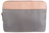 Kate Spade Striped Laptop Case