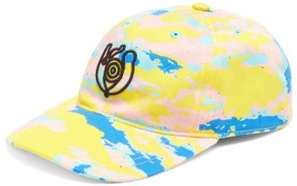 eye/LOEWE/nature Eye-embroidered Cotton Baseball Cap - Mens - Multi