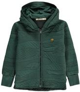 Bobo Choses Textured Zip-Up Table Hooded Sweatshirt