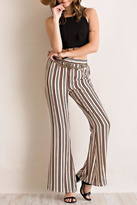 Entro Striped Bell Bottoms