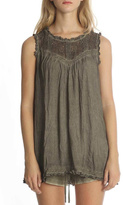 POL Lace Sleeveless Top