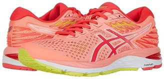 Asics GEL-Cumulus(r) 21 (Sun Coral/Laser Pink) Women's Running Shoes