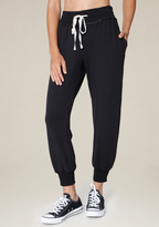 Bebe Luxe Skinny Jogger Pants