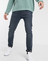 Levi's 510 skinny fit standard rise jeans in ivy advanced mid wash-Blue