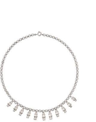 Susan Caplan Vintage Sparkling Crystal Necklace