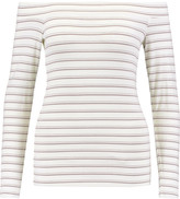 Tart Collections Eira off-the-shoulder striped jersey top