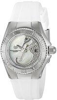 Technomarine Women's TM-115206 Cruise Dream Analog Display Swiss Quartz White Watch