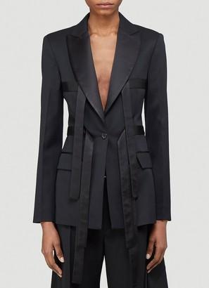 J.W.Anderson Strap Detail Tailored Blazer