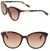 Calvin Klein 53mm Cat Eye Sunglasses