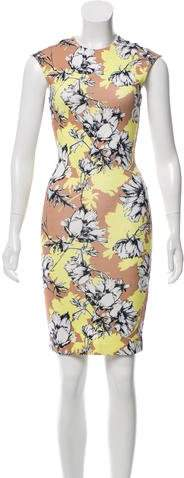 Torn By Ronny Kobo Floral Mini Dress