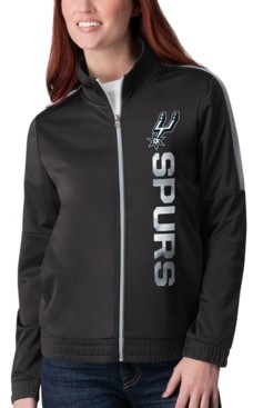 G Iii Sports G-iii Sports Women's San Antonio Spurs Team Track Jacket