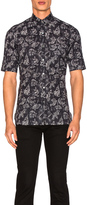 Lanvin Slim Fit Short Sleeve Shirt