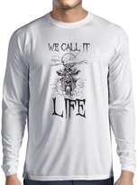 lepni.me Long sleeve t shirt men We call it Life motorcycle clothing