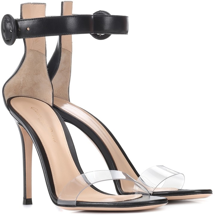 Gianvito Rossi Stella leather sandals