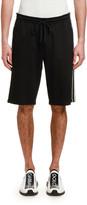 Dolce & Gabbana Men's Retro Side-Stripe Track Shorts