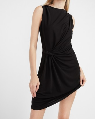 Express Sleeveless Side Twist Sheath Dress