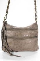 Matt & Nat Beige Suede Leather Chain Strap Small Crossbody Handbag
