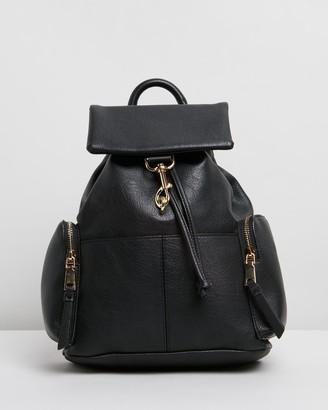 Topshop Dog Clip Backpack