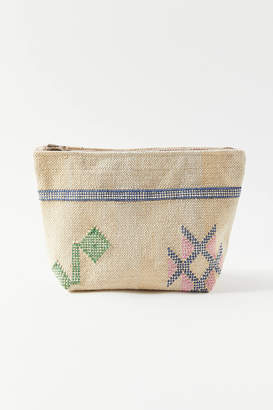 Urban Outfitters Small Embroidered Cactus Pouch