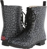 Chooka Leopard Combat Rain Boot