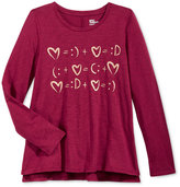 Epic Threads Girls' Graphic-Print T-Shirt, Only at Macy's