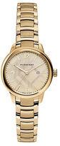Burberry BU10109 Small Classic Goldtone Stainless Steel Bracelet Watch