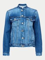 Frame Le Frayed Denim Jacket