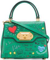 Dolce & Gabbana Welcome graffiti tote