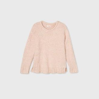 Cat & Jack Girls' Sparkle Pullover Sweater - Cat & JackTM