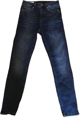 J. Lindeberg Blue Cotton - elasthane Jeans for Women