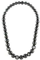 Bottega Veneta Crystal Inlaid Bead Necklace
