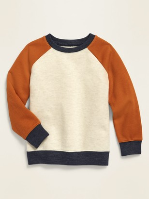 Old Navy Color-Block French-Rib Raglan Sweater for Toddler Boys
