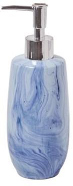 SKL Home Tuscan Lotion/Soap dispenser, Blue, 15 oz.