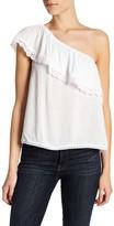 Jolt One Shoulder Ruffle Shirt