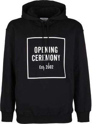 Opening Ceremony Black Cotton Sweatshirt