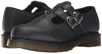 Dr. Martens 8065 Mary Jane (Black Virginia) Women's Maryjane Shoes
