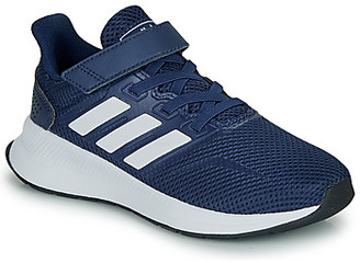 adidas RUNFALCON C girls's Shoes (Trainers) in Blue