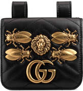 Gucci GG Marmont animal studs belt accessory