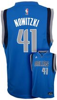 adidas Boys 8-20 Dallas Mavericks Dirk Nowitzki NBA Replica Jersey