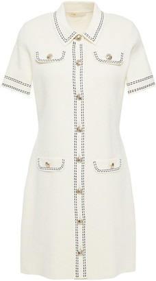 Maje Rosie Cotton Mini Dress