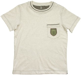 Brunello Cucinelli Cotton Jersey T-shirt With Chest Pocket And Badge