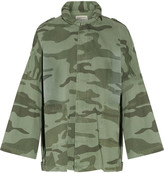Current/Elliott The Fleet Admiral printed cotton jacket