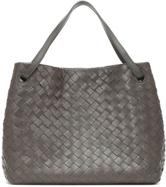 Bottega Veneta Garda Large intrecciato leather tote