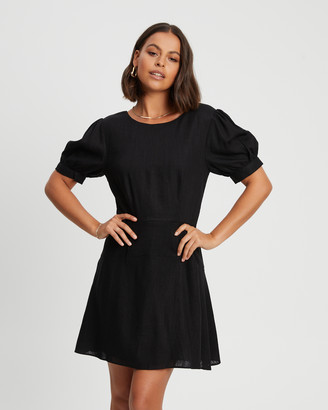 Savel - Women's Black Party Dresses - Court Mini Dress - Size One Size, 6 at The Iconic