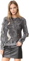 Versus Chain Mesh Sweatshirt