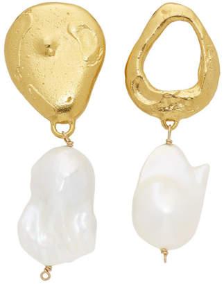 Alighieri Gold The Infernal Storm Earrings