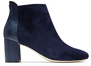 Cole Haan Women's Nella Suede & Leather Ankle Boots